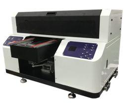 De kleine UVPrinter van het Bed van het Glas van Inkjet van de Grootte Digitale A3 Vlakke A3 voor Verkoop