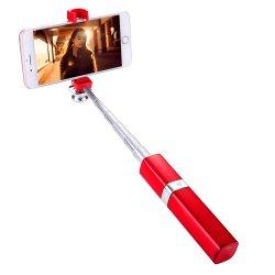 Onlangs Stok Selfie van Monopod van het zelf-Portret van het Ontwerp van de Lippenstift van de Manier de Verlengbare voor iPhone