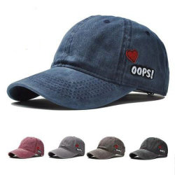 カスタム高品質5のパネルの洗濯機の刺繍によって苦しめられる野球帽