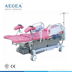 AG-C101A03 Leatherwear flexibilidade de parturição mulheres Ldr Parto leito cirúrgico