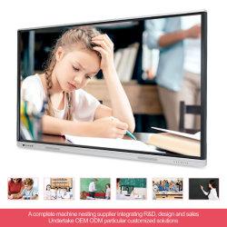 T6h86h SKD Lcddisplay Smart Office Digital All-in-One PC Electric 교육 장비 터치 스크린 모바일 스마트 보드