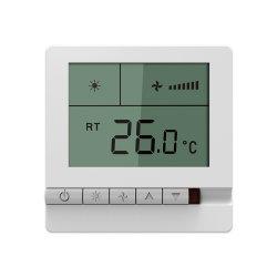 86mm X 86mm laatst het Draadloze Digitale Controlemechanisme van de Temperatuur van de Rol van de Ventilator van de Zaal X13mm