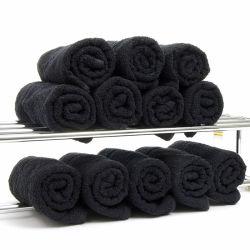 Eau de Javel La preuve Serviette de Salon 16s 40x80cm Black sèche serviette pour un salon de beauté