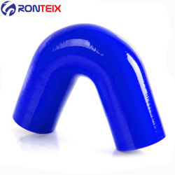 135 grados curva recta reductor de la manguera de silicona de acoplador de la joroba de silicona flexible de reductor de 90 grados de silicona