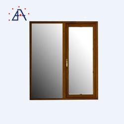 تصميم عصري رخيص UPVC كاسمنت / أبواب منزلقة ونوافذ