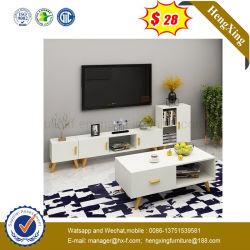 Sala de estar moderna mobília de madeira MDF Suporte de mesa de café armário TV (UL-9SER205)