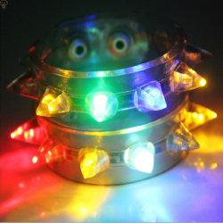 مصباح LED متعدد الألوان يضيء باللون الأحمر اللحاف وسبابك سبيك