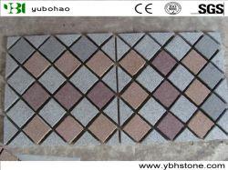 Pavimentazione in pietra di basalto/ardesia/arenaria/Porphyr/granito naturale/cubetti/cieca/pietra per pavimentazione/pietra per pavimentazione