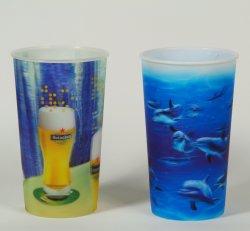 Imprimé personnalisé Tasse 3D, 3D bouteille en plastique