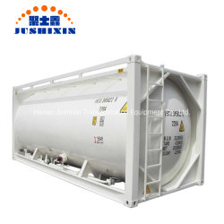 40ft 20FT 22,5/29/29.5cbm ISO Shipping Bulk Coal/Cement/Plaster/ZnO/Znic Powder Steel Portable Storage Bulker Cargo Tank Container