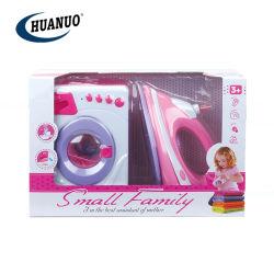 Vérin de jouets de promotion Machine à laver et fer à repasser électrique avec la lumière et le son