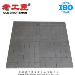 Gecementeerde Carbide van de Plaat van het Lassen van diverse Grootte het VacuümWolfram