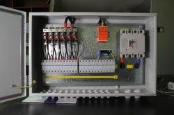 Cadena 6 de la matriz de energía Fotovoltaica Energía Solar Fotovoltaica Material hierro combinador de DC cajas para el sistema de Energía Solar