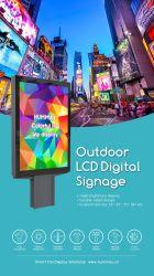 Все в одном 49-дюймовый сенсорный экран Double-Side на открытом воздухе Digital Signage