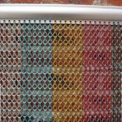 الفندق Decorium 2.0 لون الألومنيوم المعدني سلسلة الستائر الميش
