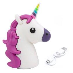 Banque d'alimentation Unicorn Emoji 2600 mAh