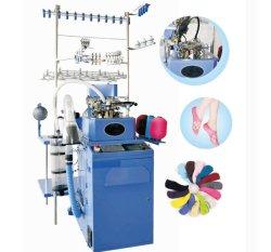 La máquina por Calze Corap Makinesi Usate que hace la máquina de tejer calcetines automático computarizado Knitter hacer medias de algodón