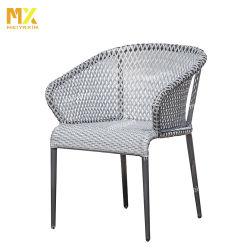 Foshan Fábrica de muebles de comedor al aire libre con alta calidad de tejido de rota