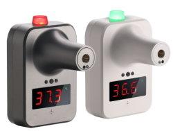 K7 an der Wand befestigte Scanner-Temperatur-Digital-Infrarotstirn-Thermometer Soem-RoHS