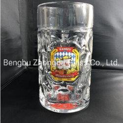 Ilカスタムロゴの大きい窪みを作られたドイツビールガラスのマグ
