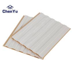 목제 색깔 패턴 PVC 천장판 3D 효력 PVC 벽면