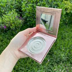 Firstsail Custom 57 mm magnetico Pan vuoto etichetta privata occhio singolo Shadow palette Pink Makeup imballaggio carta per Blusher Eyeshadow