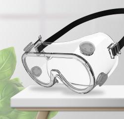 최신 판매 안전 눈 유리제 방어적인 PC 플라스틱 안전 눈 유리제 방어 고글 편리한 투명한 Eyewear