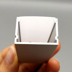 Perfil de alumínio da curva de armário de luzes de parede LED de iluminação de canal Linear Definido