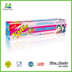 Los niños Dentifrice suministros dentales Venta al por mayor la pasta de dientes inmenso cuidado Proveedores