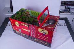 Colore di carta piegato di Cmyk di stampa del contenitore di automobile con il contenitore di regalo della carta patinata del cartone