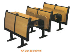 Allgemeiner Kursteilnehmer-Klassenzimmer-Möbel-Hochschulschule-Schreibtisch und Stuhl (YA-X004)