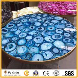 Popolare Cinese marmo/granito/pietra di lusso rotonda/rettangolare moderno tavolo da pranzo/caffè