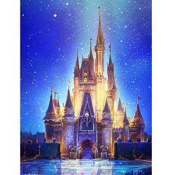 Castello Diamond Painting Lanscape Cina Commercio all'ingrosso DIY 5D Crystal Castle Pittura completa di diamante di trapano per i bambini adulti artigianato d'arte