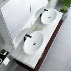 人工的な石造りのToliletの洗浄流しの浴室のハンドメイドの洗面器