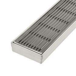 Personnalisée en usine en acier inoxydable 304 316 sur le fil de filtre en coin douche Drain de plancher de Vidange Vidange linéaire