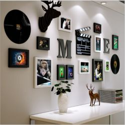 ホーム装飾のための写真アルバムおよび象の皿の壁の芸術