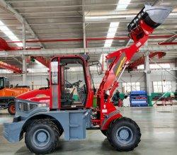 Euro 5 디젤 엔진 편안한 드라이빙 휠 로더 1.5t