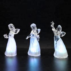 홈 데코 Craft Christmas Angel 다채로운 GC-L-0035용 LED 조명