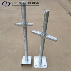 Sistema de andamiaje base de conector hembra de tornillo galvanizado DIP en caliente y U Cabeza