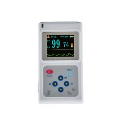 PET용 Contec Cms60d-Vet 컬러 화면 디스플레이 수의과 맥박 산소 측정기