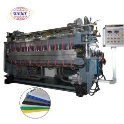 خط إنتاج مصنوع من الورق المضلع مصنوع من البولي بروبيلين PP بحجم 2100 مم