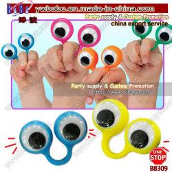 Spielzeug-große Augen-Finger-Marionetten-bestes Partei-Zubehör der Neuheit-Spielzeug-Hersteller-LED blinkendes (B8309)