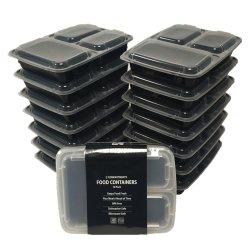 Бисфенол-А кухонных одноразовой пластиковой микроволновой печи ресторан PP извлеките блюда контейнер