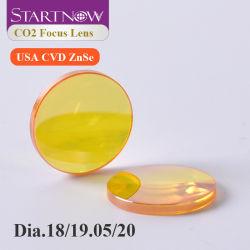 "Startnow Infrared Lens USA ZnSe CVD 초점 유리 지름 18 19.05mm 20 FL 38.1 50.8 63.5 76.2 101.6 1.5""-5"" CO2 레이저 포커스 렌즈"