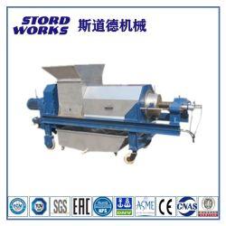 Schroefpers/ vismaaltijd machine met PLC-bedieningspaneel