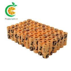 친환경 생분해성 생분해성 콘녹말 콤포지블 도기 포그 도치 폐기물 팝업 백
