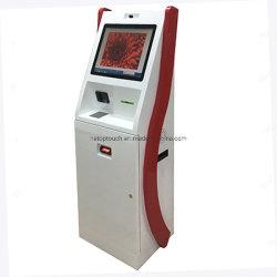 Интерактивный сенсорный самообслуживания киоск оплаты оборудования с принтером, камерой, Pinpad и Билл Acceptor