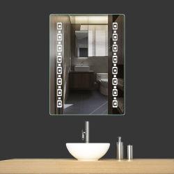 Моды Style шелкографии мебель LED зеркало заднего вида дом декор с использованием сенсорного датчика и регулятора яркости освещения приборов