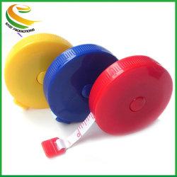 昇進のボディ測定の定規は縫うこと調節テープを測定する 60 インチの柔らかい平らな 1.5 m のミシンの定規のミシンの測定のテープを測定する