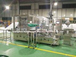 Automatische het Vullen van de Fles Vloeibare Verzegelende het Afdekken Machine in Guangzhou